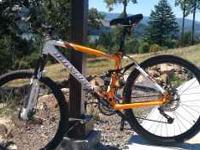 NOVARA BLISS -- 27 speeds, orange/white --