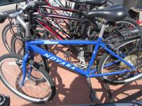 You are considering a Blue Novara City Mens Bike. Its a