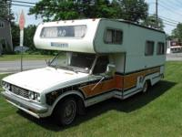NOW REDUCED-1977 Toyota Enterprise Camper RV-nice -