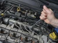 * We do oil adjustments, waterpumps, tuneups, brakes,