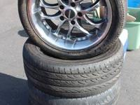 Good NS Racing 5 lug Rims with Tires. Came off of an