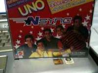 NSYNC Uno Cards with CD. $2 You can either call