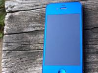 I have an nTelos iPhone 4S with a mirrored blue color