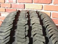 NEW Take Offs*****Goodyear Wrangler ST Black wall