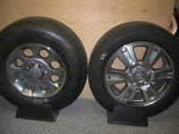 "NewTakeOff wheels and tires  Toyota Tundra 20"" & 17"""