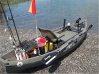 NuCanoe Very Stable Kayak.  STABILITY. Whether standing