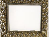 Nudell Plastics #66 Black & Gold ~ To fit 8X10 prints ~
