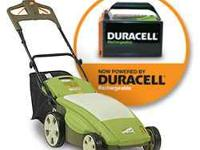 I have a brand new CE6 Nueton Cordless electric lawn