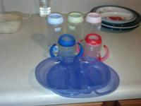 I have 3 10oz bottles and 2 5oz sippy cups for sale.