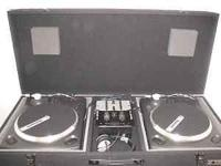 I have a full Numark turntable setup with casket,