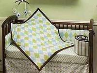 Little Bedding by NoJo - Ivy League Argyle 4 Piece Crib