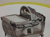 The Baby Trend Nursery Center Playard offers a safe