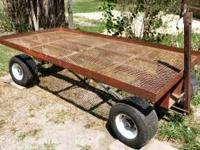4'x8' 4-Wheel Tracking Trailer These sell for ~$1200
