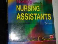I am selling my Moby's Nursing Assistants Book 6th
