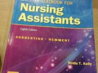 almost new nursing assistants book only 30.00 call