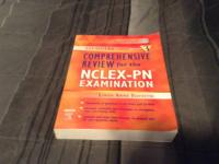 NCLEX-PN evaluation book $20.00. ATI books-there is a