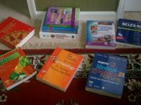 NURSING TEXT BOOKS. ALL ARE BRAND NEW, NEVER USED, SOME