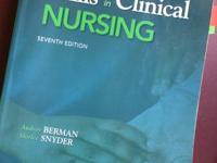 Nursing books all bought within the last four years.