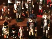 HAVE A NICE NUTCRACKER COLLECTION FOR SALE.  SOME ARE