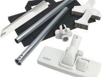 The NuTone Central Vacuum Standard Tool Set comes with