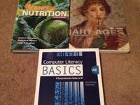 I have a book for Nutrition (NTR-201) for sale for $80.