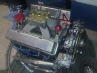 I got a 350 small block nutter racing engine it is all