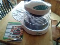I have a great working NuWave oven. Has manual, and