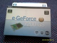 - - VIDIA e-GeForce 7200GS graphics card 512 MB DDR2