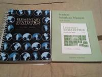 For Sale is the book Elementary Statistics plus