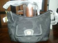 NWT INSPIRED BLACK COACH PURSE CALL OR TEXT