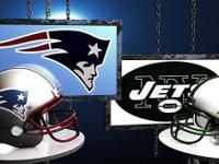 $75, NY JET Fans Game of the Year - Patriots vs Jets