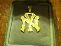 I have a 14k gold NY Yankees pendant for sale. It is
