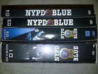 NYPD Blue On DVD Seasons 1 - 4 ALL in very good