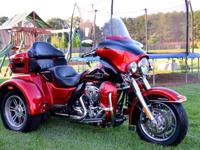 2012 Harley Davidson Tri-Glide UltraNever Ridden in the