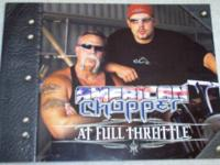 **AMERICAN CHOPPER - AT FULL THROTTLE** Large softcover
