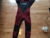 I'm selling an O'Neill mutant wetsuit 5/4 mm with