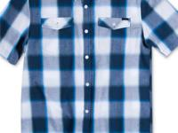 O'Neill's plaid shirt is a laid-back essential. Wear