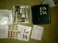 Version airplane engines available! 1982 OS 25F ABC.