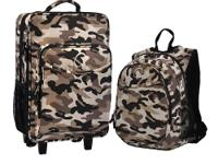 The O3 Kids Luggage and Backpack Set With Integrated