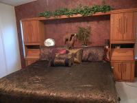 BEAUTIFUL OAK BEDROOM SET. INCLUDES: 2 TOWERS, LIGHTED