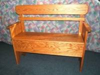 On Sale Now $195.00 This would be a nice bench for the