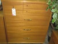 This is a nice 4 drawer chest. It measures apporx. 43""