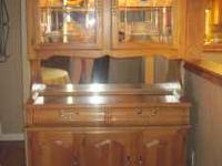 Don't miss this great deal. Excellent condition oak