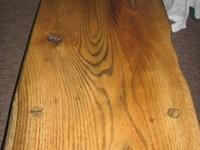 I have for sale a oak coffee table.  The top is made of