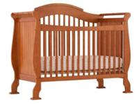 Stork craft baby crib, not even 2 years old,