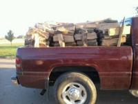 oak firewood for sale its cut n split 75dollars a face