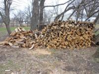 Good, hard, long burning oak firewood for sale. One