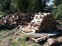 Lots of Oak Firewood for sale. Come and get it. Pickup