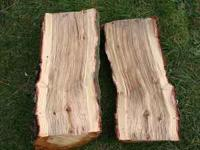 A Pack is $55 and approx. 1/8 Cord of wood, 1'H x 4'W x