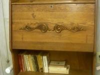 Antique Oak Larkin Secretary c1900 Drop down desk for